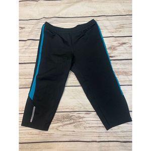 Saucony Black Leggings Size Medium